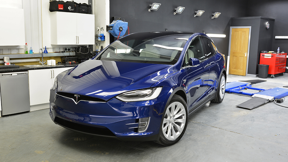 Protecting a new Tesla Model X | Exclusive Car Care 24
