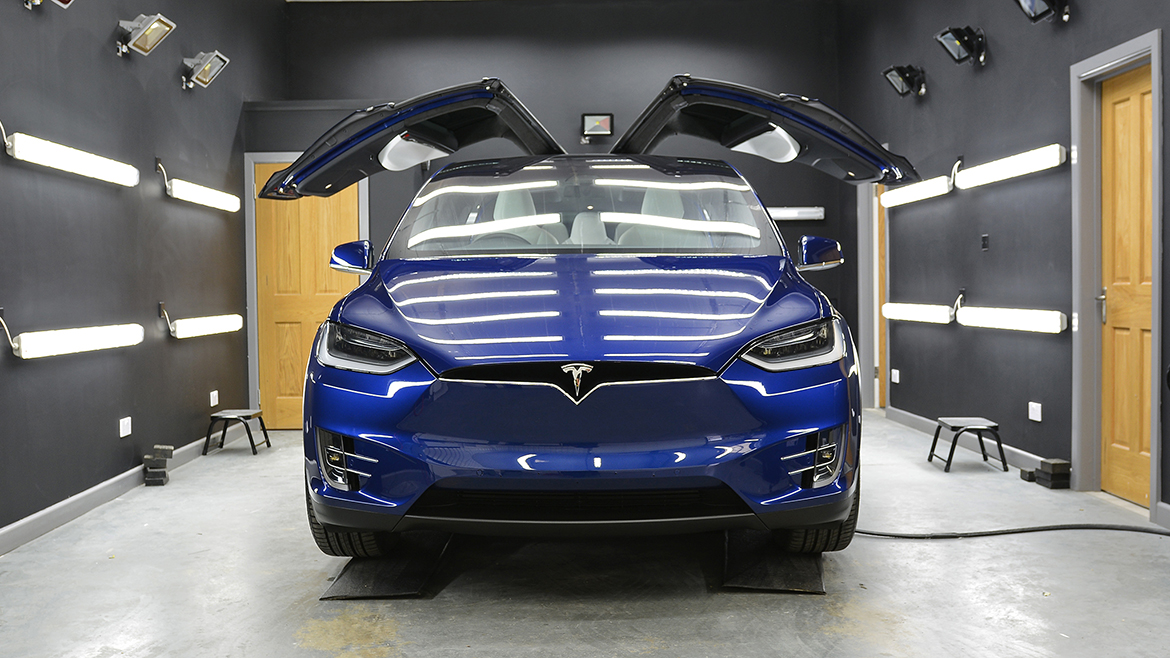 Protecting a new Tesla Model X | Exclusive Car Care 25