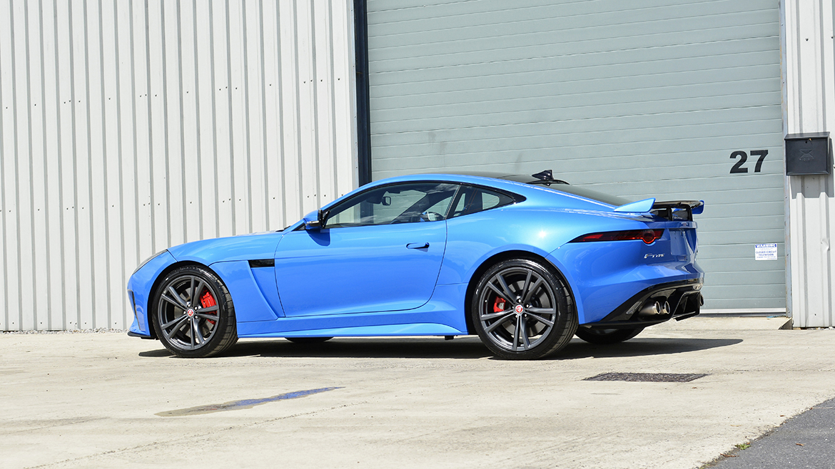 Gtechniq & Xpel Protection for a new Jaguar F-Type SVR | Exclusive Car Care 38