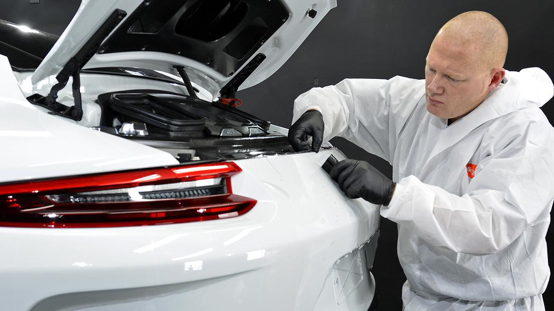 Xpel Ultimate PPF & Gtechniq Protection for a Carrera White Metallic Porsche 991.2 GT3 | Exclusive Car Care 6