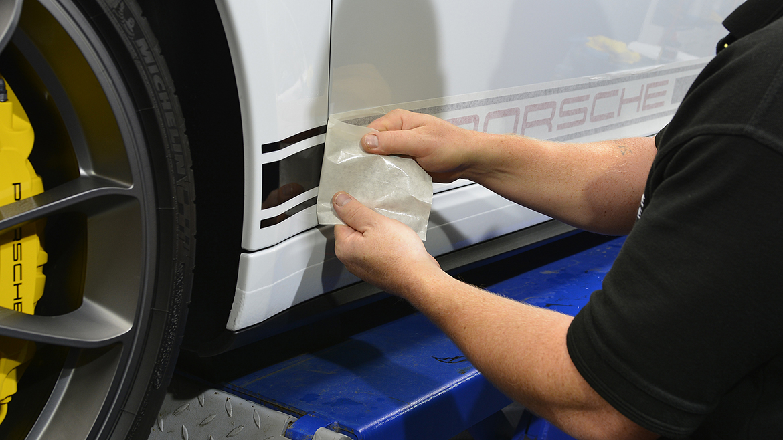 Xpel Ultimate PPF & Gtechniq Protection for a Carrera White Metallic Porsche 991.2 GT3 | Exclusive Car Care 10