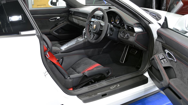 Xpel Ultimate PPF & Gtechniq Protection for a Carrera White Metallic Porsche 991.2 GT3 | Exclusive Car Care 19