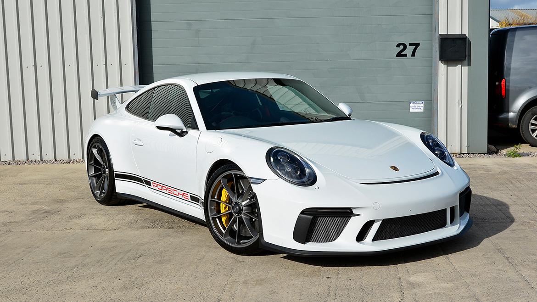 Xpel Ultimate PPF & Gtechniq Protection for a Carrera White Metallic Porsche 991.2 GT3 | Exclusive Car Care 13