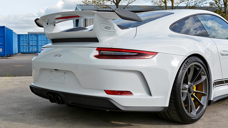 Xpel Ultimate PPF & Gtechniq Protection for a Carrera White Metallic Porsche 991.2 GT3 | Exclusive Car Care 14