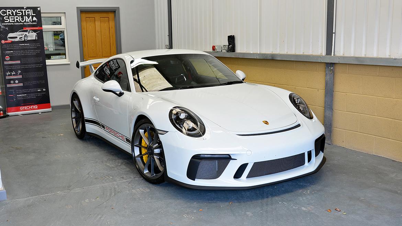 Xpel Ultimate PPF & Gtechniq Protection for a Carrera White Metallic Porsche 991.2 GT3 | Exclusive Car Care 15