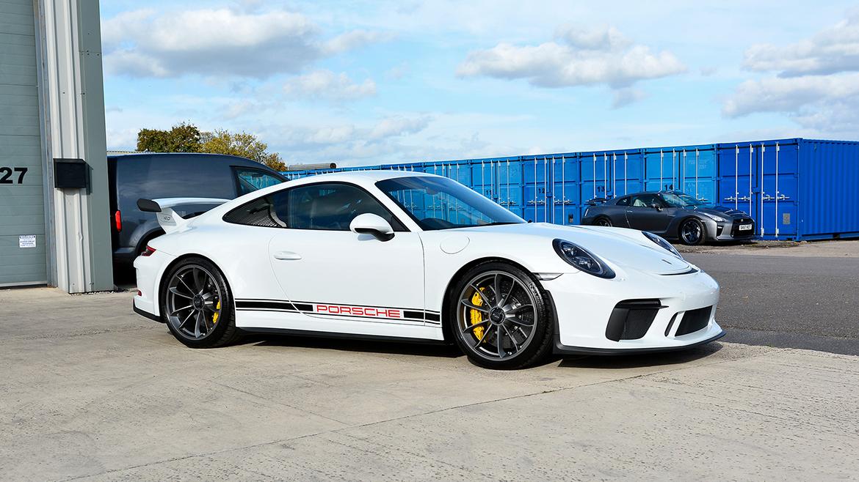 Xpel Ultimate PPF & Gtechniq Protection for a Carrera White Metallic Porsche 991.2 GT3 | Exclusive Car Care 17