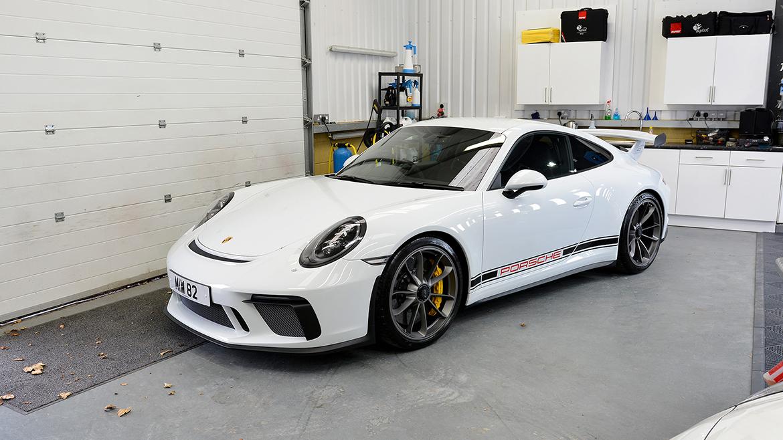 Xpel Ultimate PPF & Gtechniq Protection for a Carrera White Metallic Porsche 991.2 GT3 | Exclusive Car Care 18