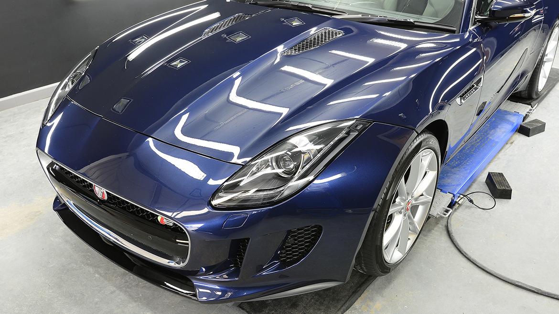Jaguar F-Type S - Minor Correction Detail with Gyeon Q² DuraBead | Exclusive Car Care 18