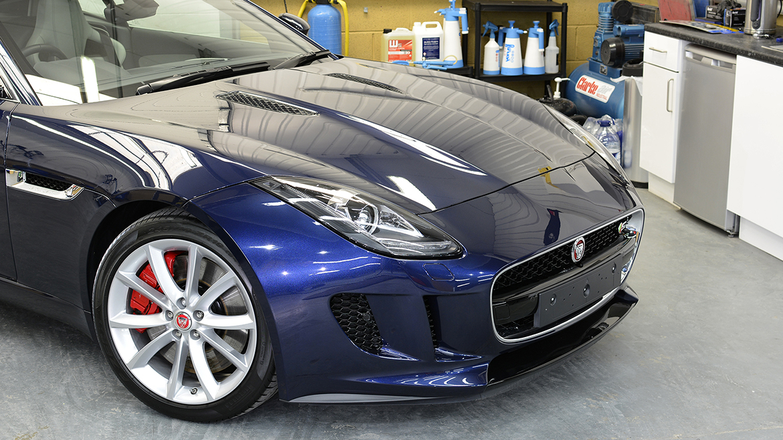 Jaguar F-Type S - Minor Correction Detail with Gyeon Q² DuraBead | Exclusive Car Care 20