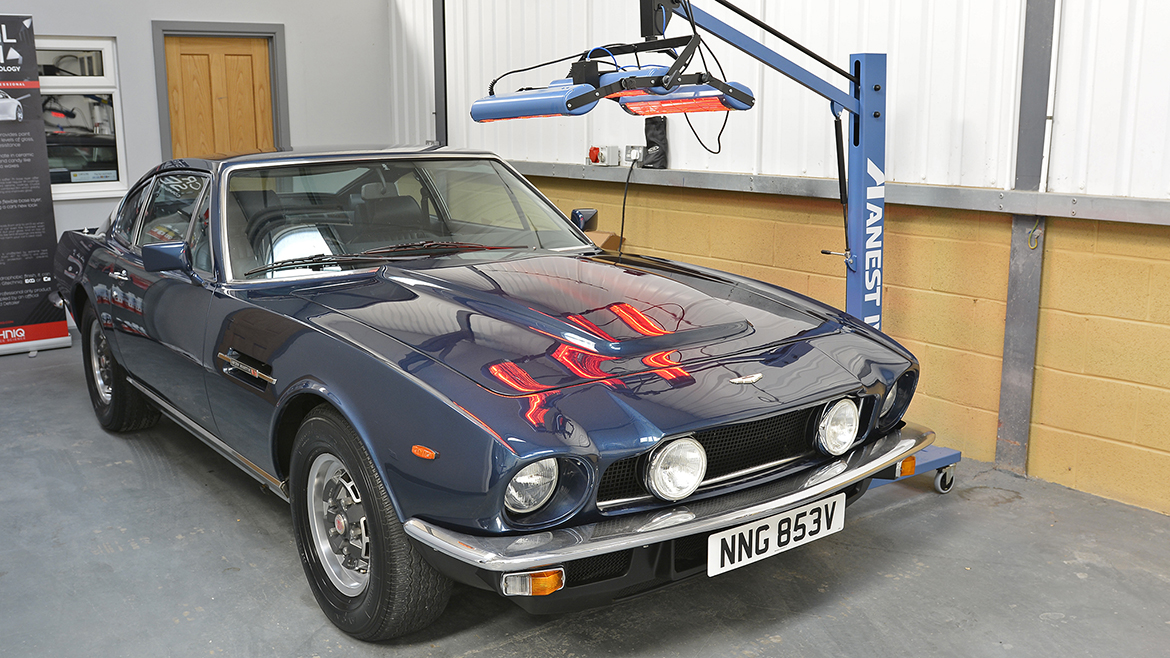 1979 Aston Martin V8 Protected with GYEON Q2 Mohs+ | Exclusive Car Care 11
