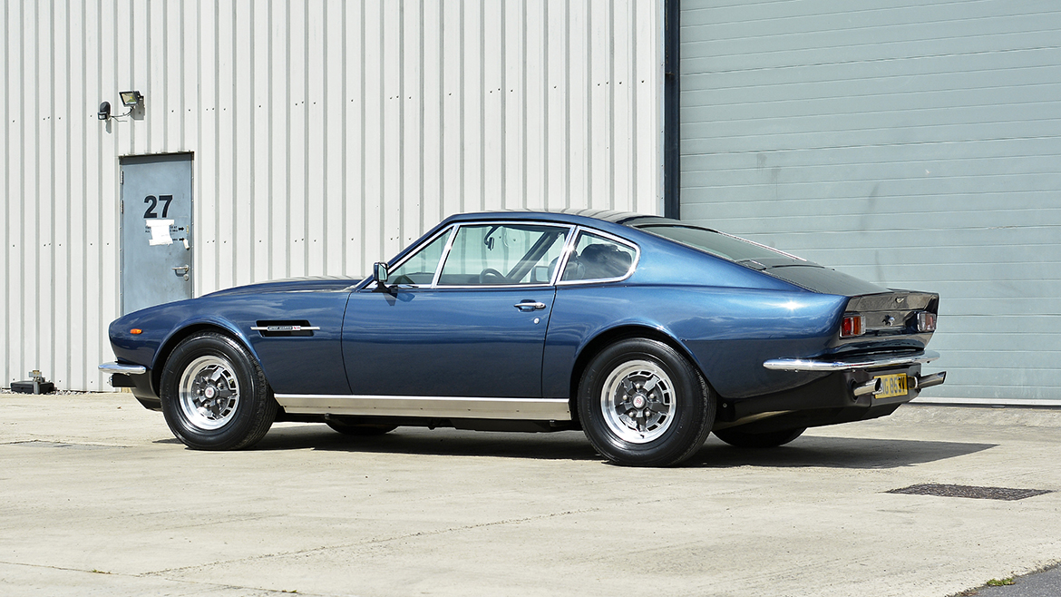 1979 Aston Martin V8 Protected with GYEON Q2 Mohs+ | Exclusive Car Care 14