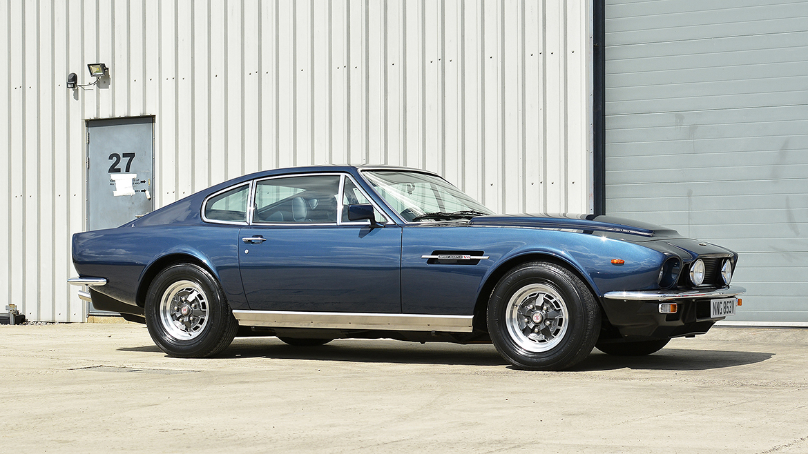 1979 Aston Martin V8 Protected with GYEON Q2 Mohs+ | Exclusive Car Care 18