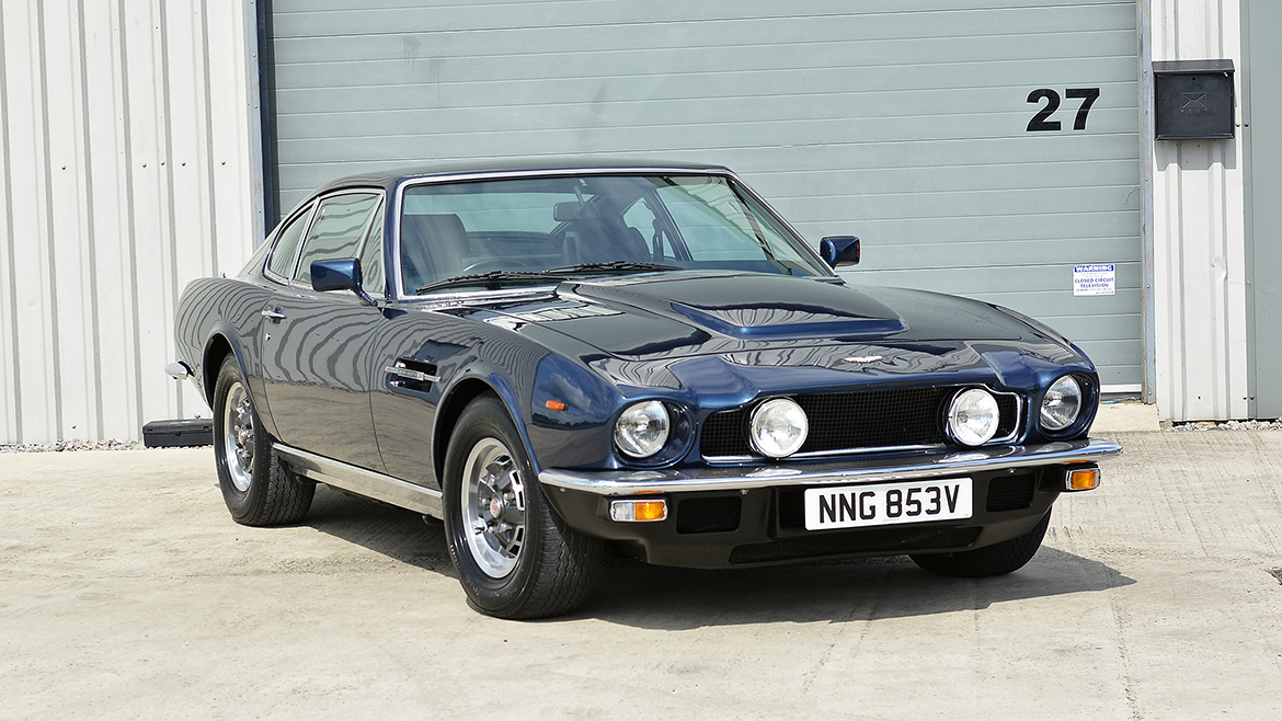 1979 Aston Martin V8 Protected with GYEON Q2 Mohs+ | Exclusive Car Care 19