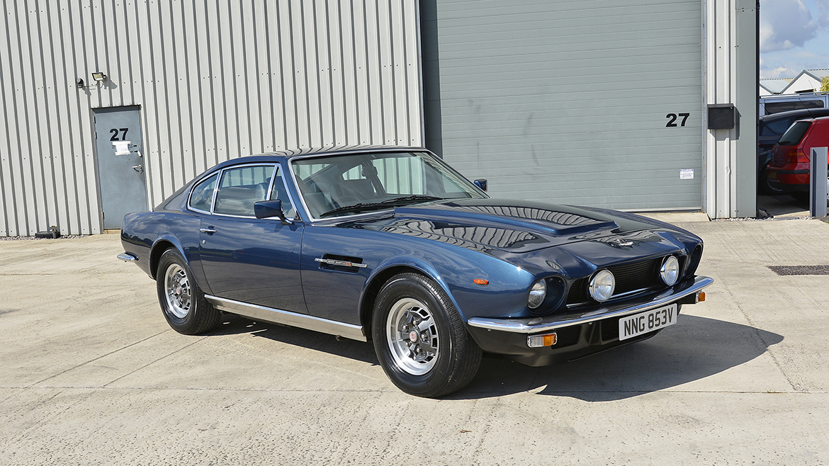 1979 Aston Martin V8 Protected with GYEON Q2 Mohs+ | Exclusive Car Care 23