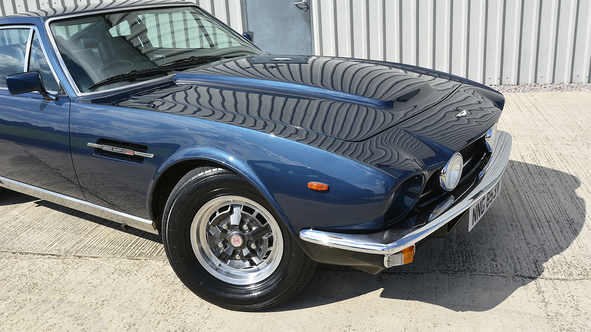 1979 Aston Martin V8 Protected with GYEON Q2 Mohs+ | Exclusive Car Care 28