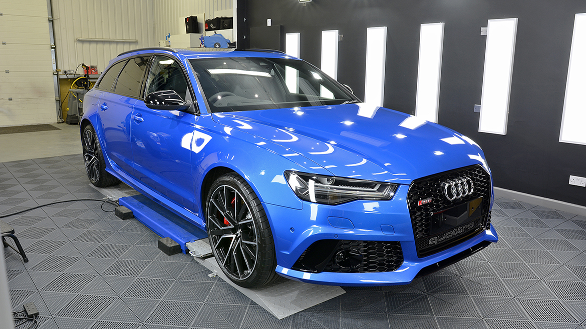 Paint Protection for a Audi RS6 Avant Performance | Exclusive Car Care 14