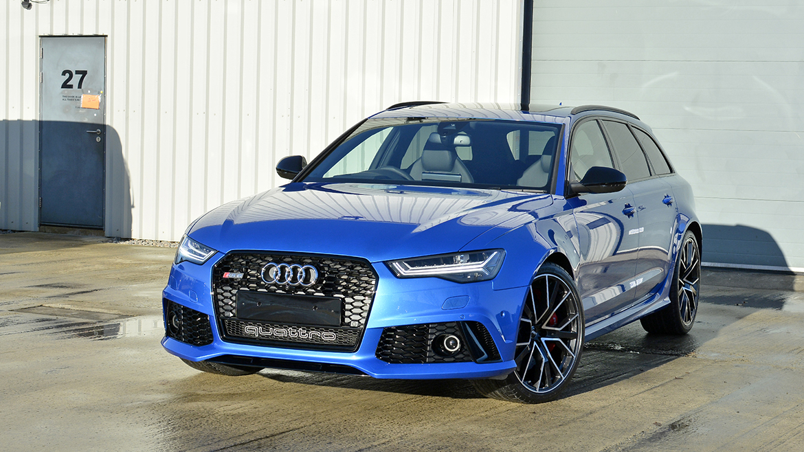 Paint Protection for a Audi RS6 Avant Performance | Exclusive Car Care 21
