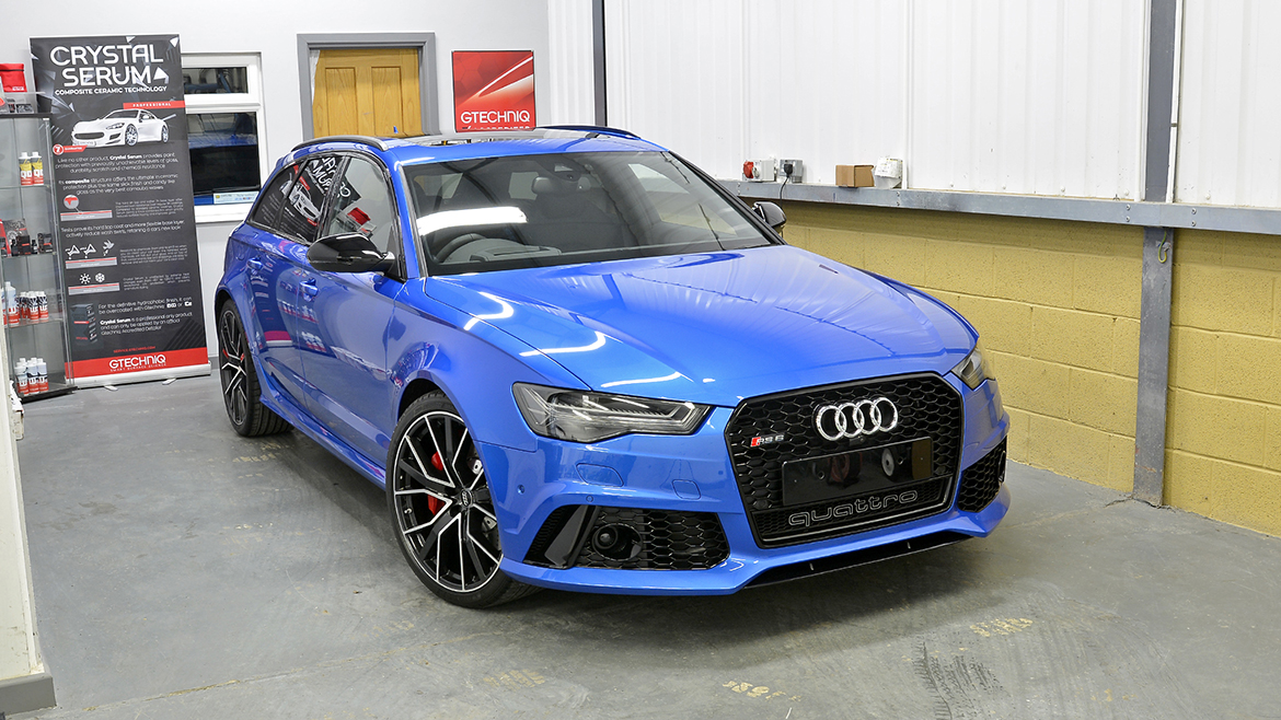Paint Protection for a Audi RS6 Avant Performance | Exclusive Car Care 31