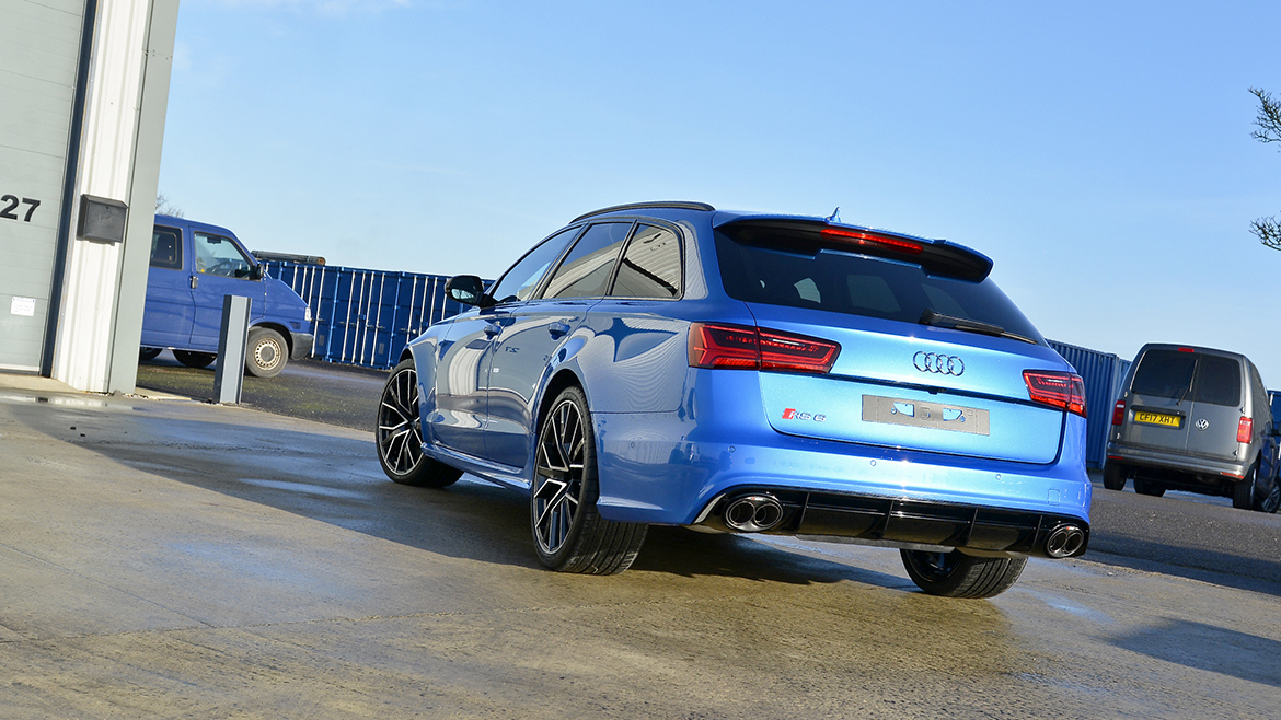 Paint Protection for a Audi RS6 Avant Performance | Exclusive Car Care 36