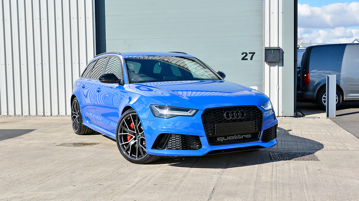 2018 Nogaro Blue Audi RS6 receives the Ultimate in Paint Protection | Exclusive Car Care 23