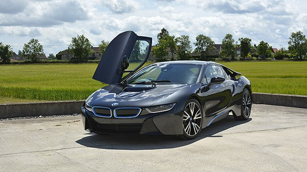 BMW i8 Paint Protection Detail