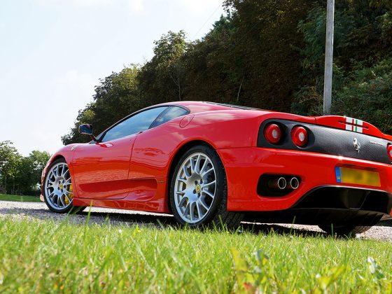 Ferrari 360 CS Paint Protection & Detailing