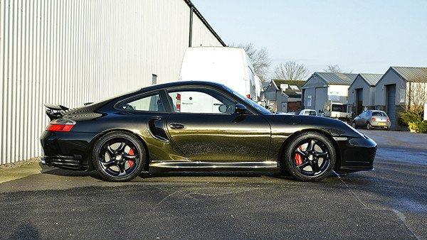 Porsche 996 Turbo S Paint Protection Detail
