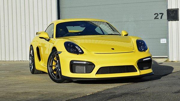Porsche Cayman GT4 Paint Protection Detail