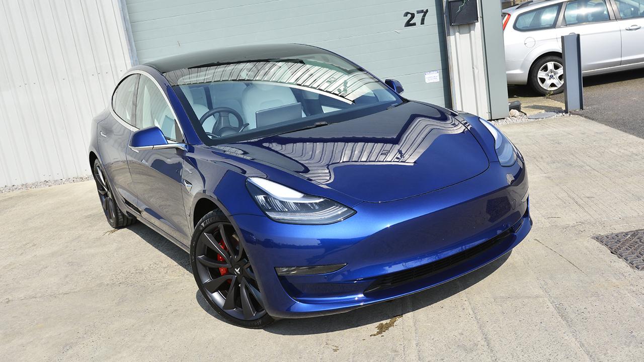 Tesla Model 3 Advanced Paint Protection   Ultimate Stone ...