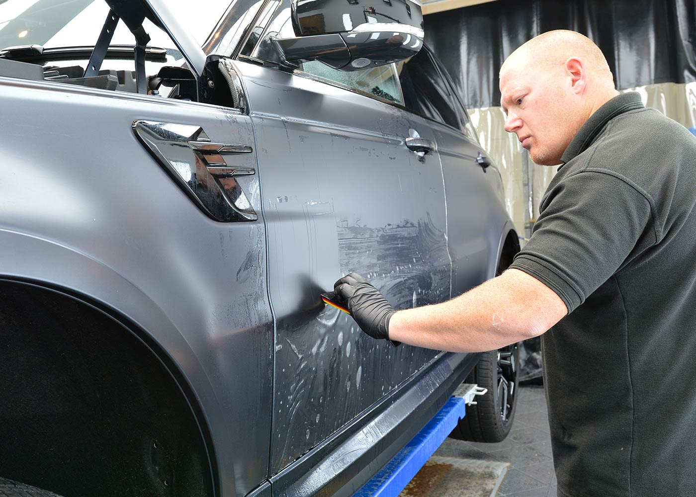 Paint protection Film for matte paint finishes