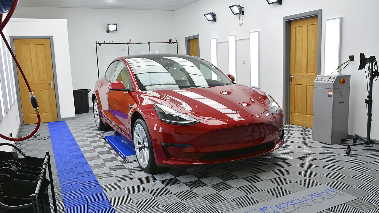 Full coverage of Xpel Paint Protection Film (PPF)