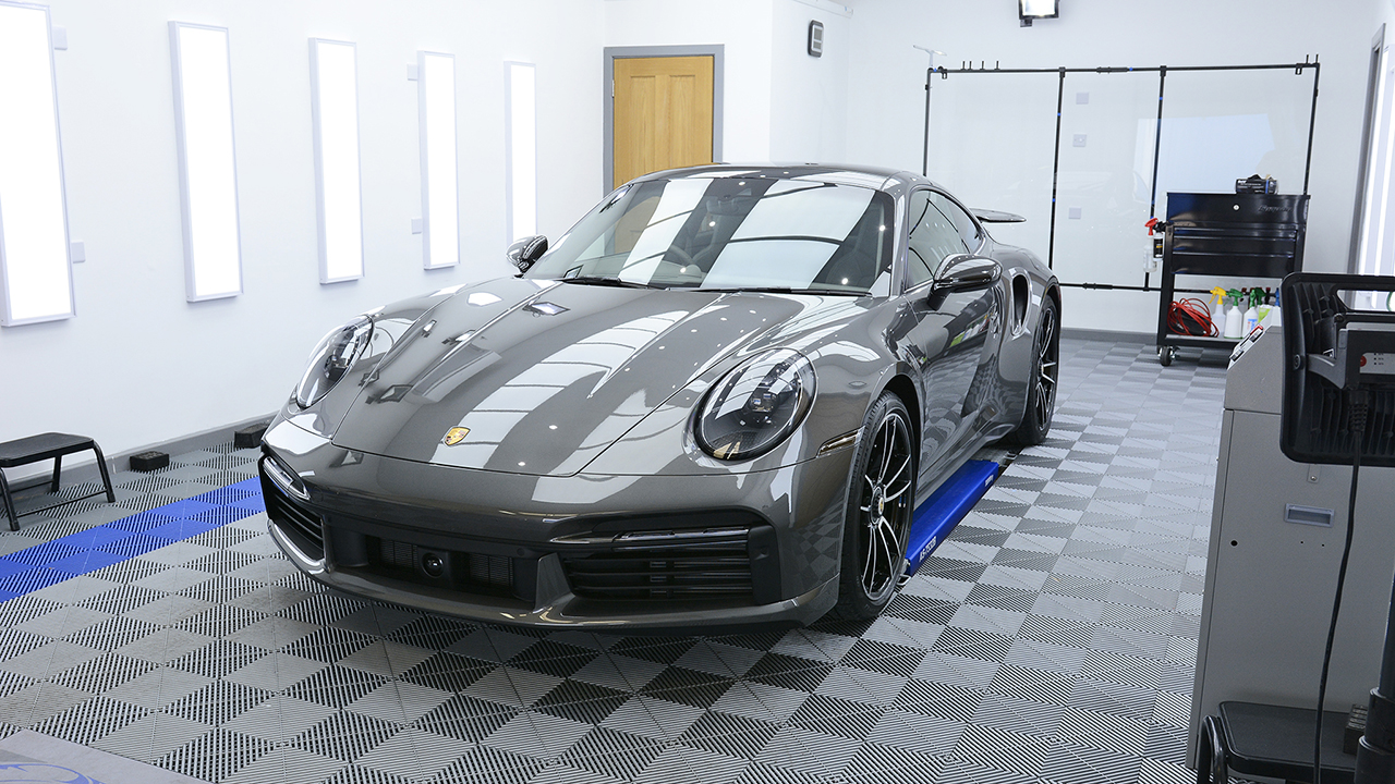 Porsche 992 Turbo S Protected With XPEL PPF