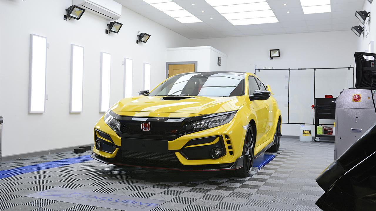 Honda Civic Type R- Ceramic Coat & Xpel PPF